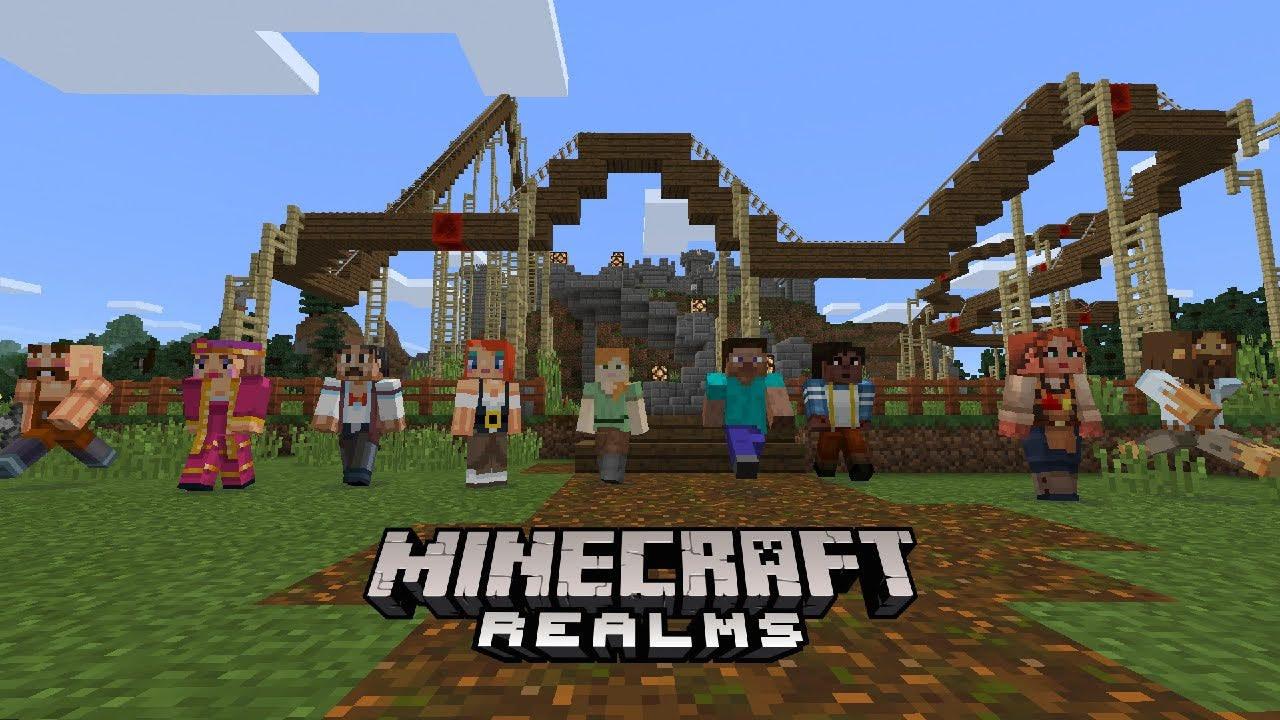 Minecraft Realms Comes To Pocket Edition & Windows 10 ...