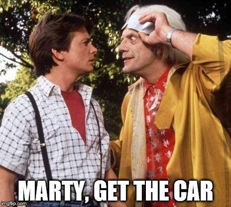 Doc Brown Marty Mcfly Meme Generator - Imgflip in 2020 | Back to the  future, The future movie, Doc brown