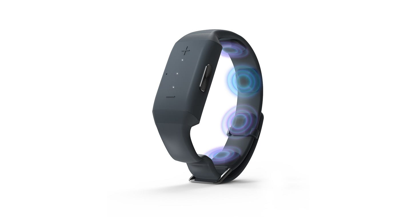 You can now expand your sensory experience. It's all in the wrist.