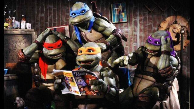 Teenage Mutant Ninja Turtles: The Movie: Scene #1