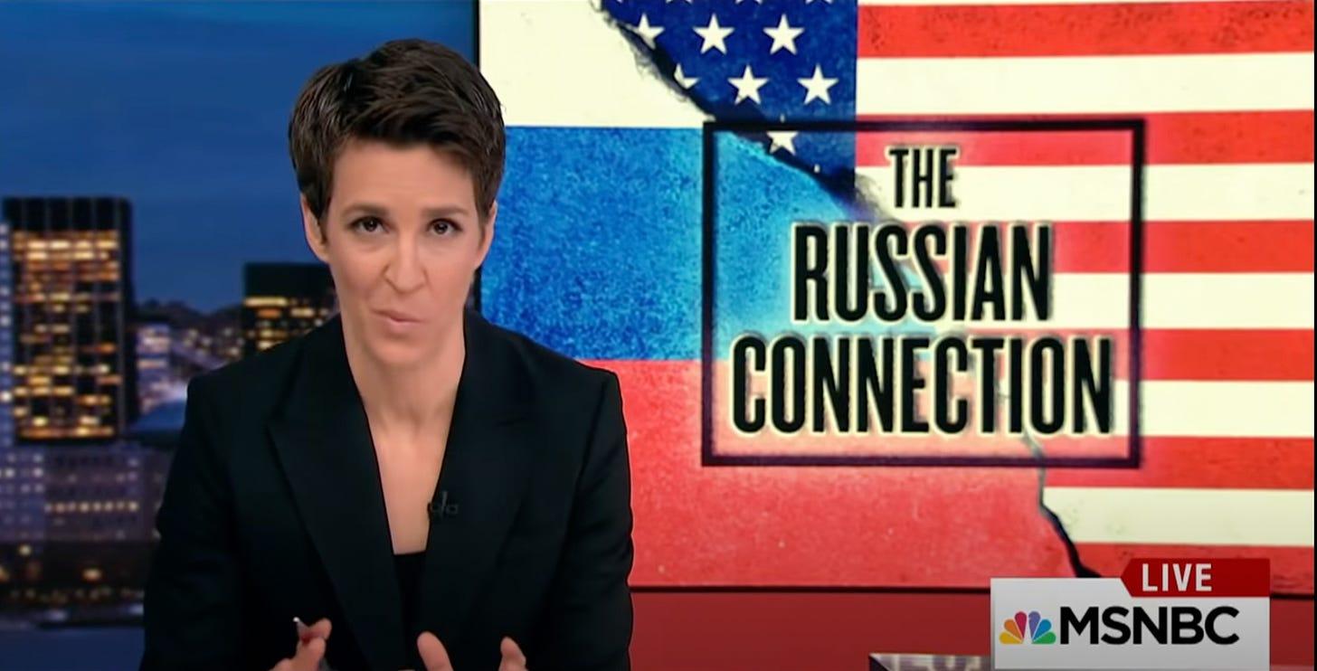 Rachel Meadows (MSNBC) propaganda                             channel
