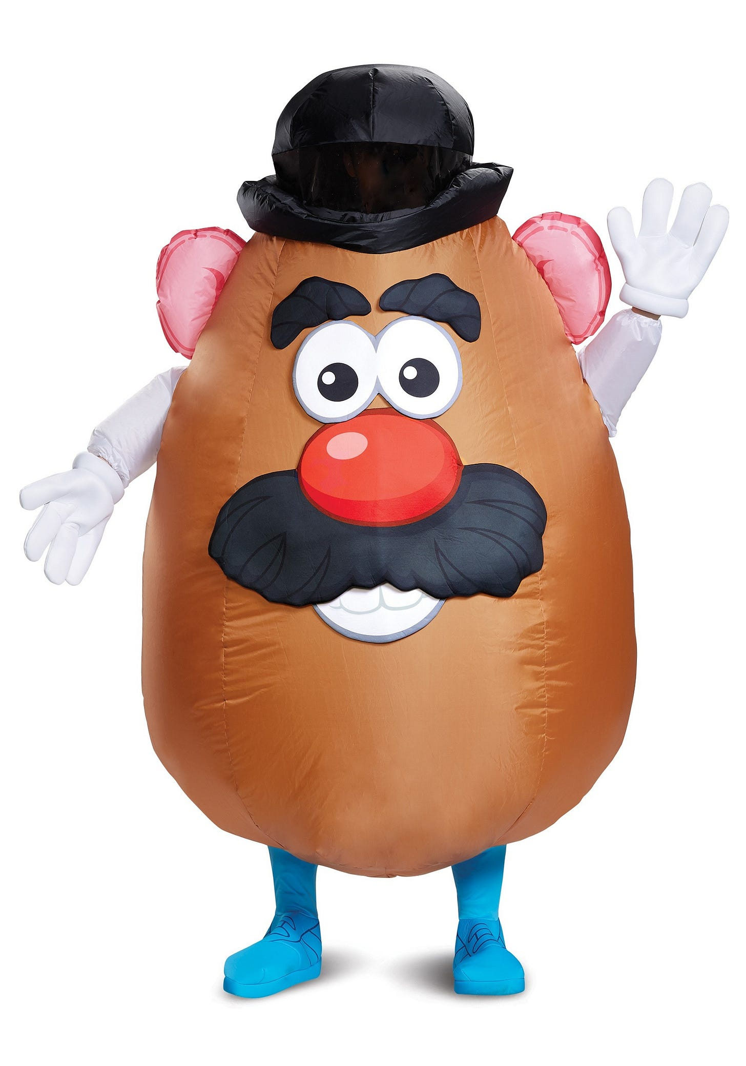 Mr. Potato Head Costume for Adults Inflatable