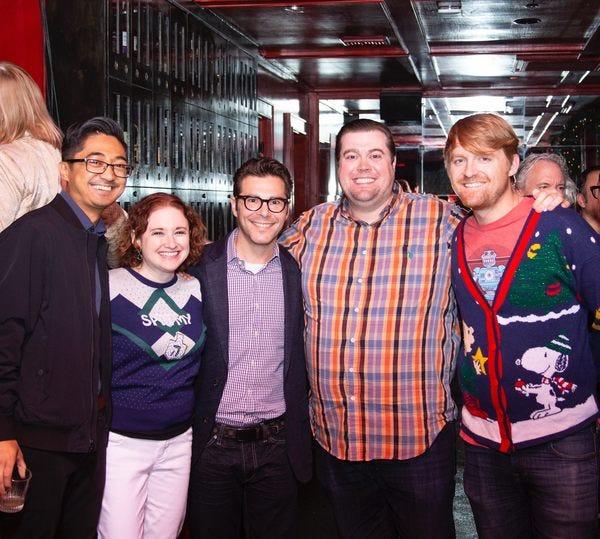 Jay, Felice, Shawn, Ross, & Todd