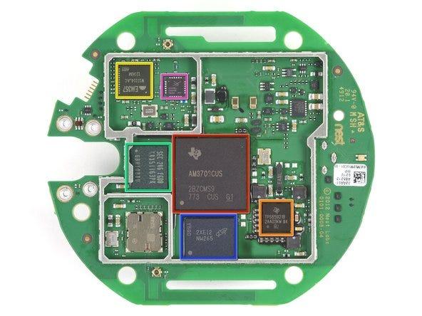 Texas Instruments AM3703CUS Sitara ARM Cortex A8 microprocessor
