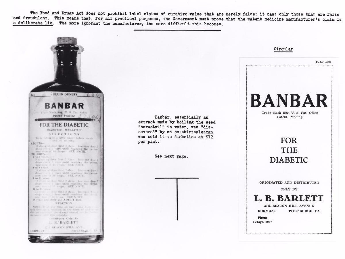 banbar FDA