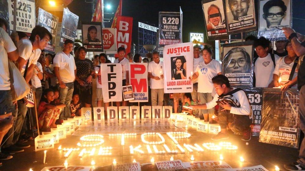 The Philippines: On the frontline of Duterte's 'war on drugs' | Links  International Journal of Socialist Renewal