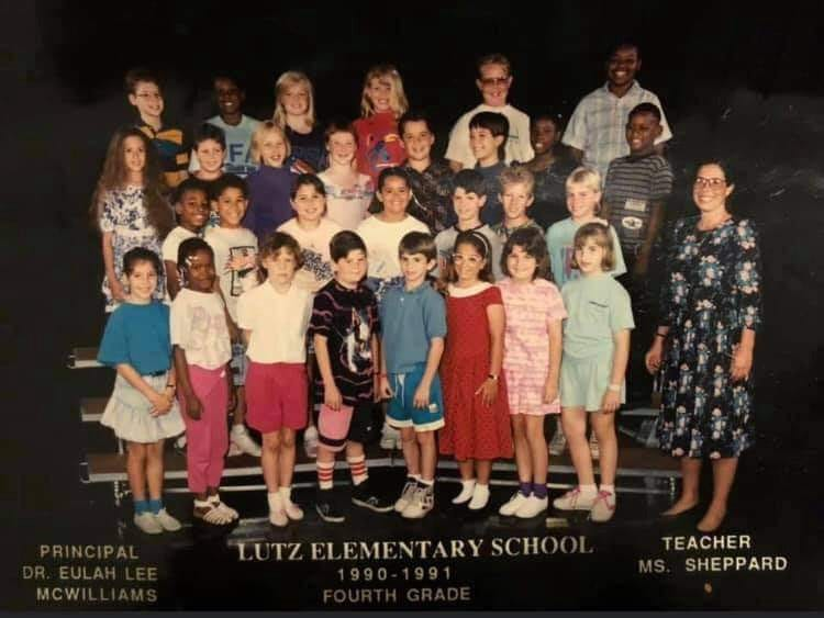 Lutz Elementary 1988