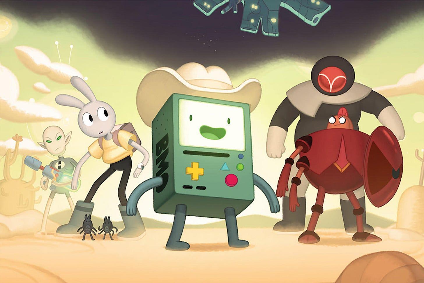 <p><em>Adventure Time: Distant Lands-BMO</em> </p>