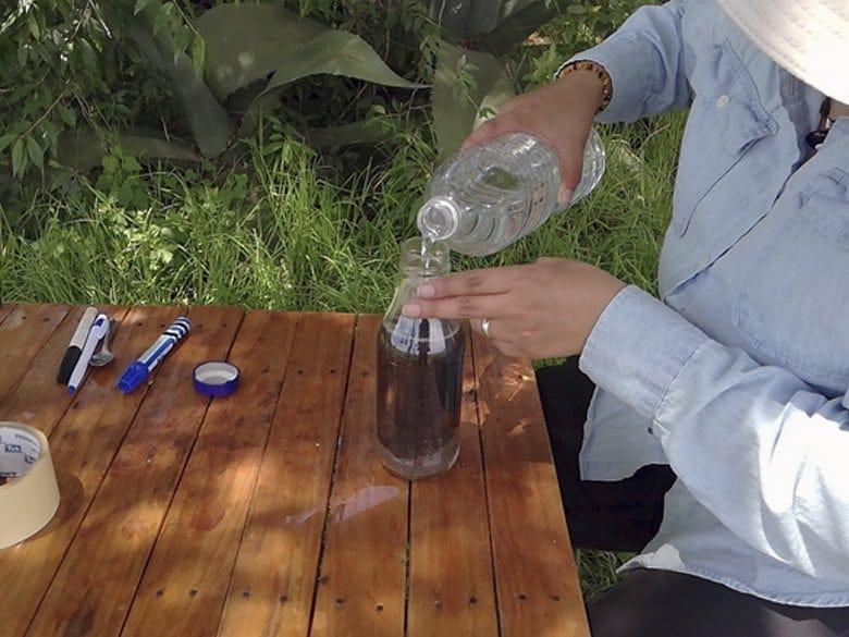 Mezclar en agua