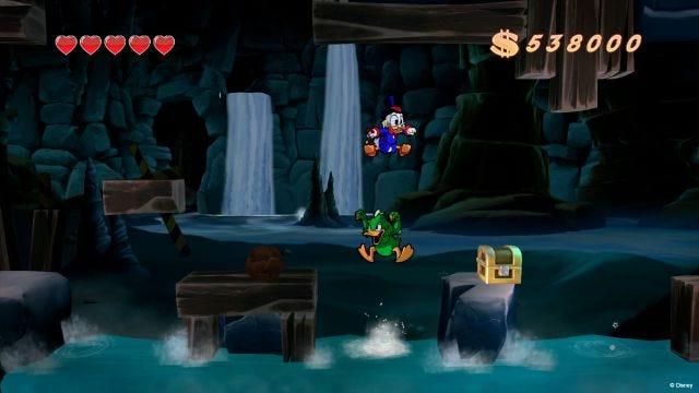 Schermata di gioco di DuckTales: Remastered