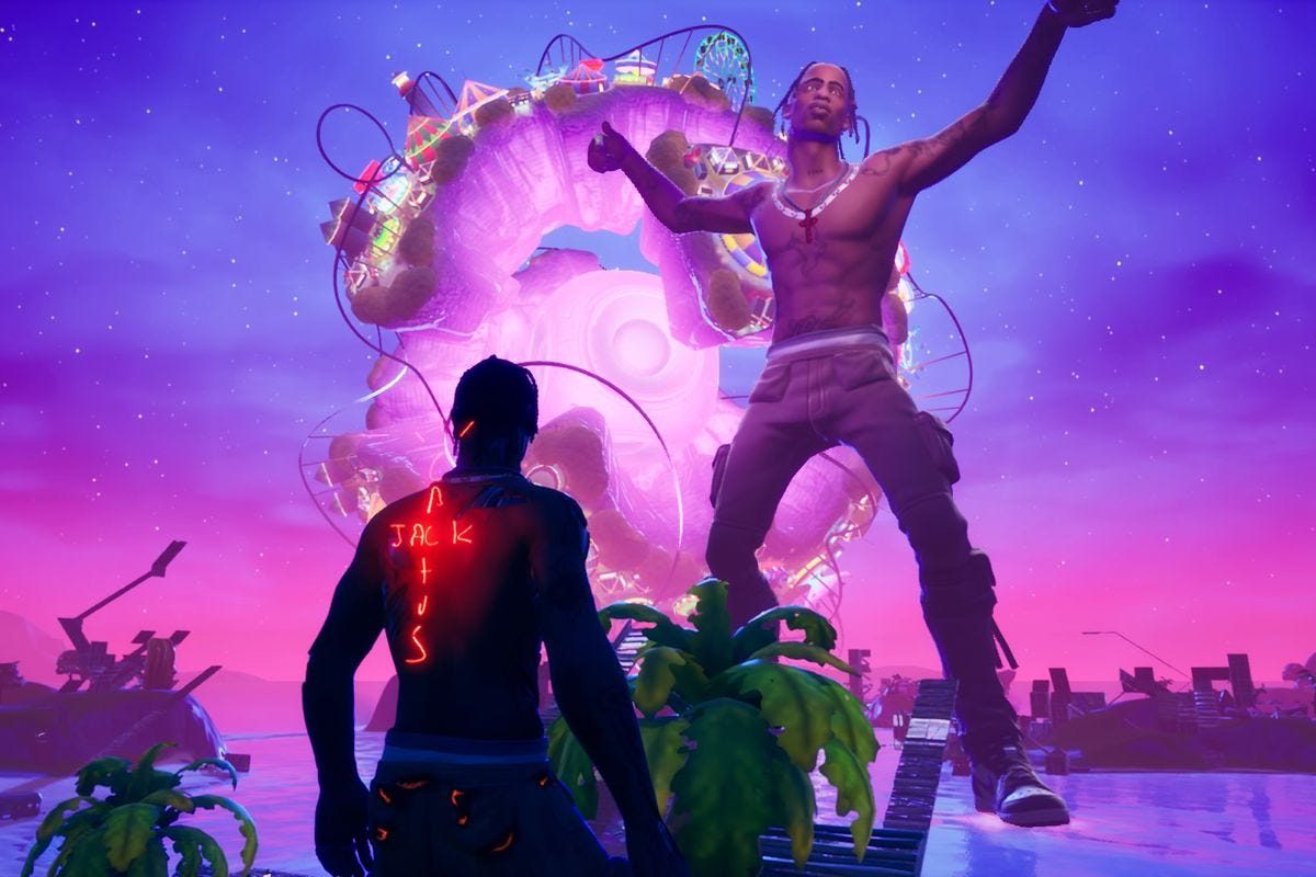 Travis Scott's first Fortnite concert was surreal and spectacular - The  Verge