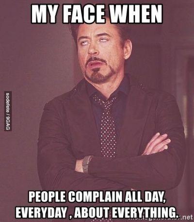 THOU SHALL NOT LISTEN TO THOSE WHO COMPLAIN   Nursing memes, Robert downey  jr meme, Nurse humor