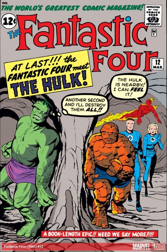 Fantastic Four (1961) #12   Comic Issues   Marvel