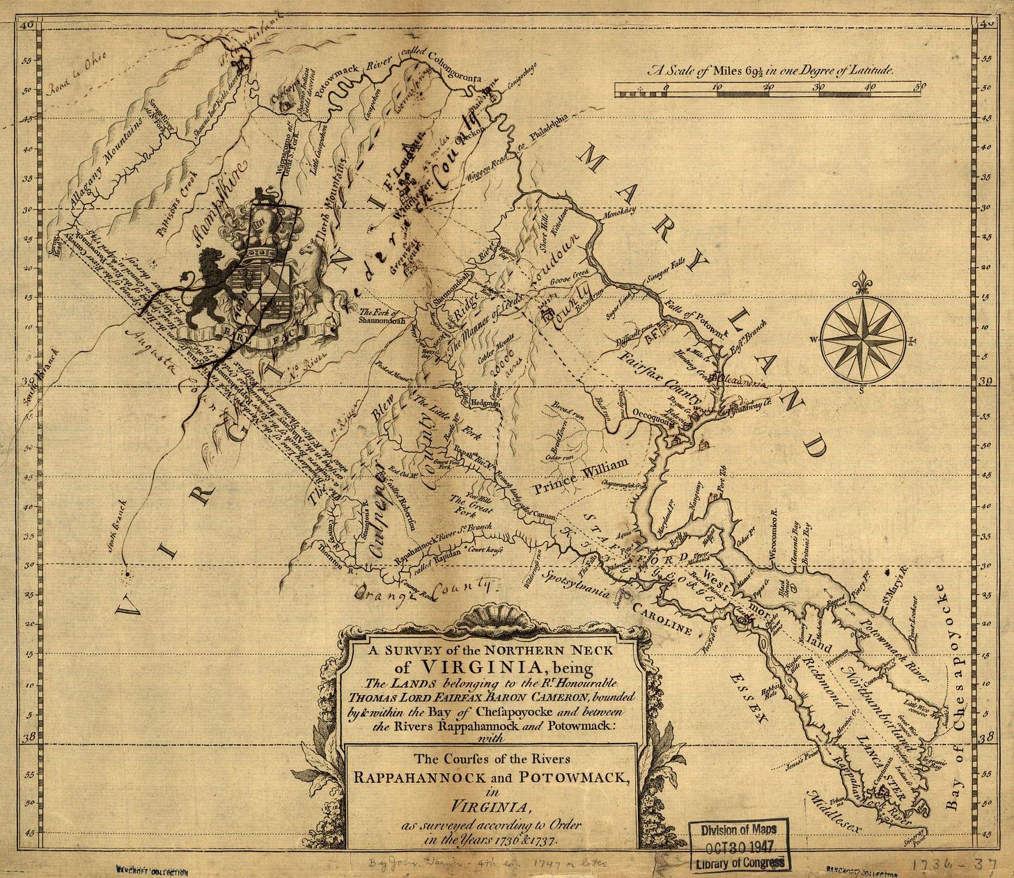 Survey of Northern Neck
