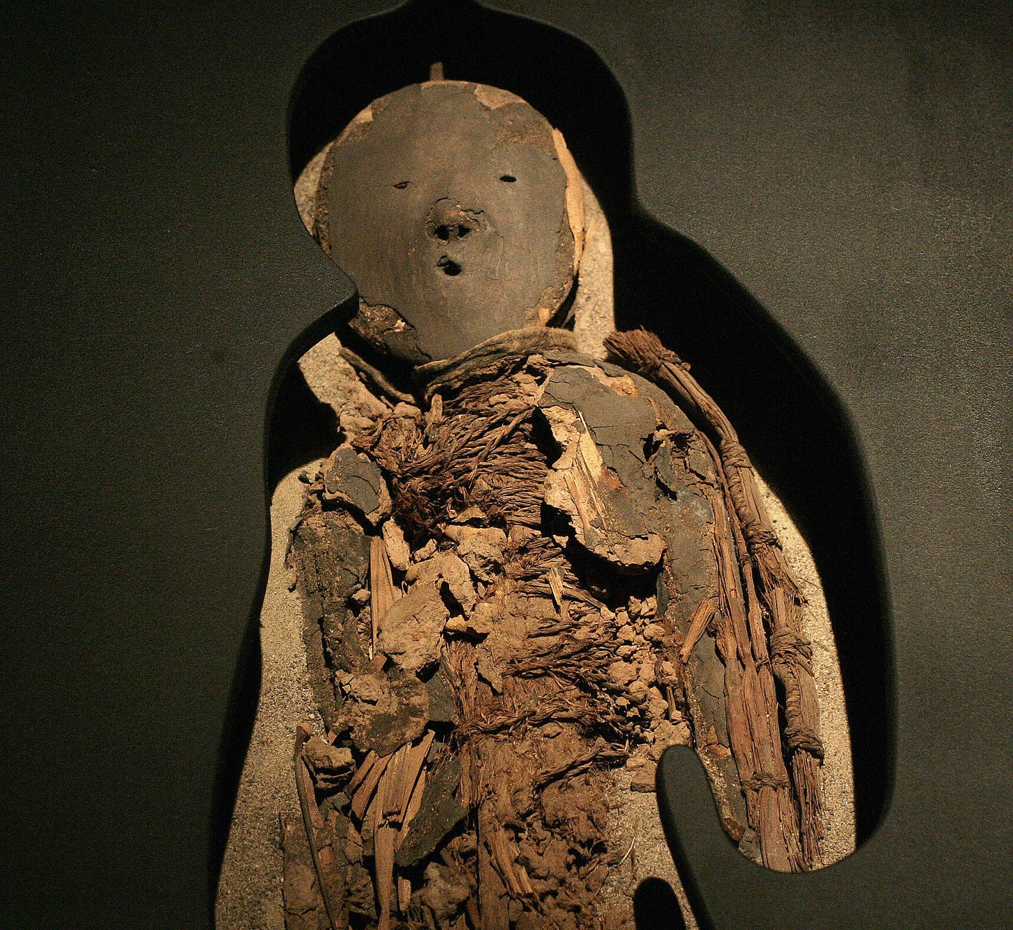 Climate Change May Be Destroying World's Oldest-Known Mummies : The Two-Way  : NPR