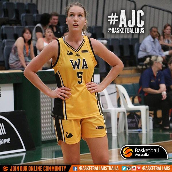 Madeleine Dennis | Photo credit: Basketball Australia/Kangaroo Photos