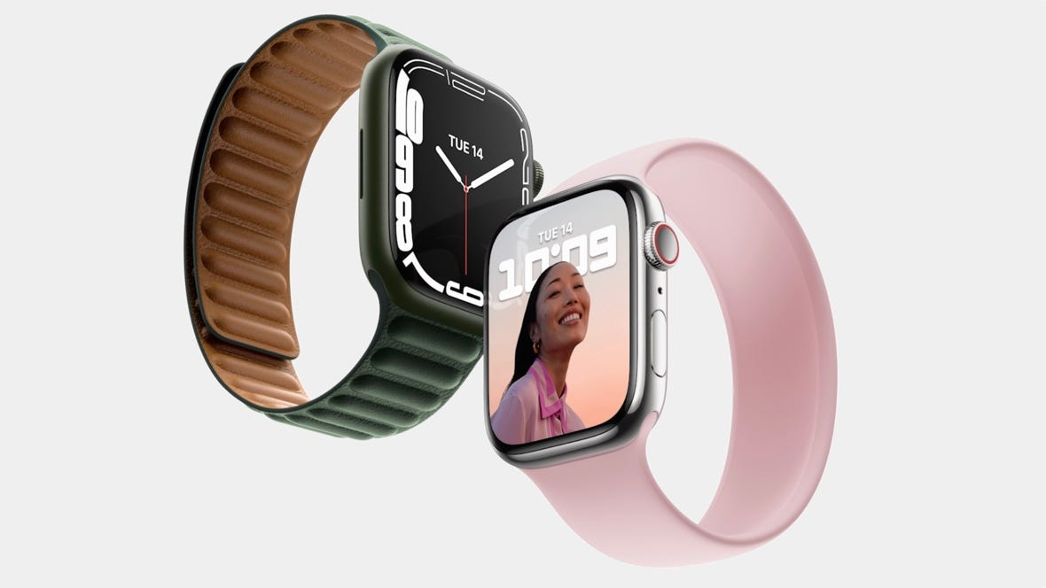 Apple Watch Series 7 officially unveiled