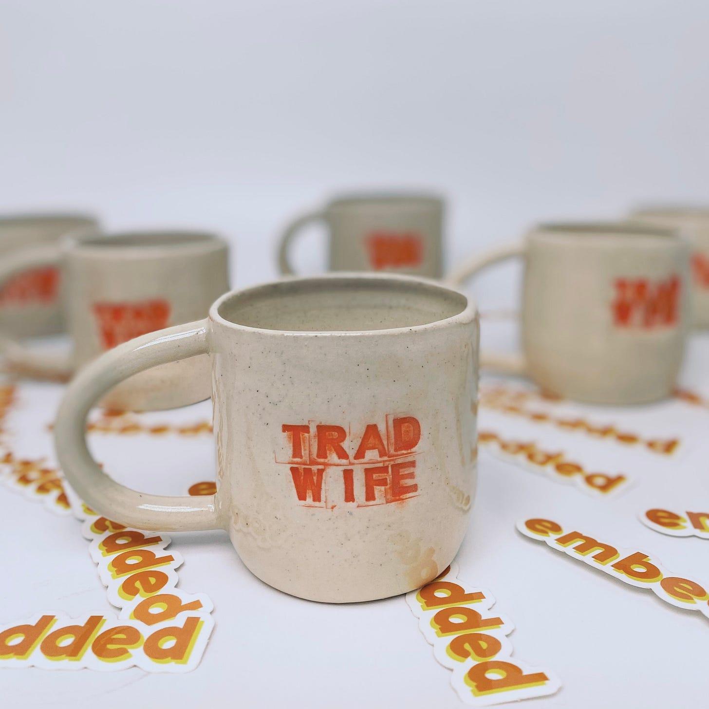 Embedded Trad Wife mug