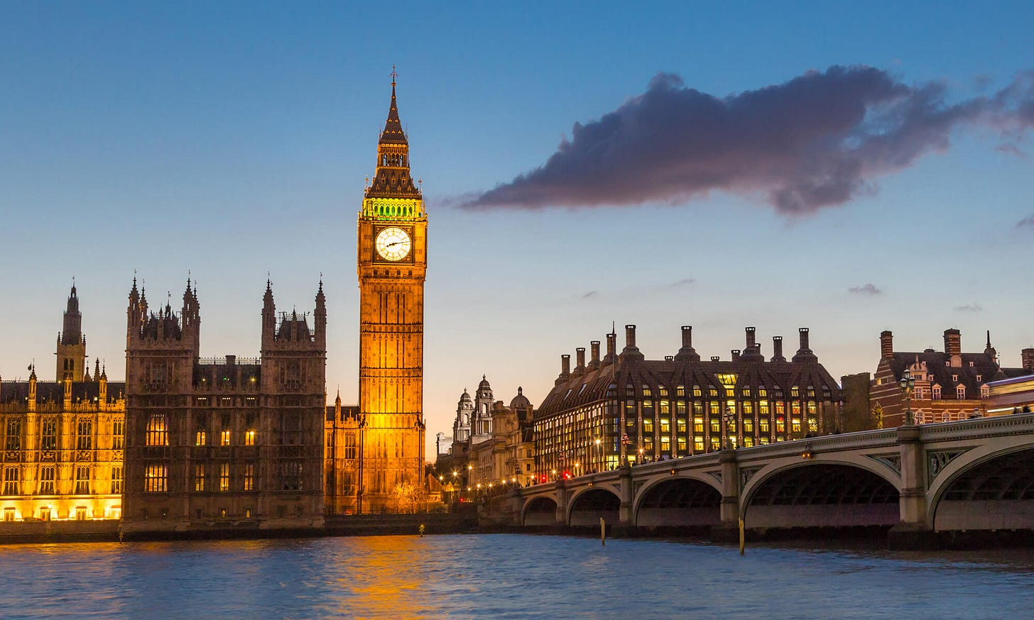 The Palace of Westminster - Social & Local