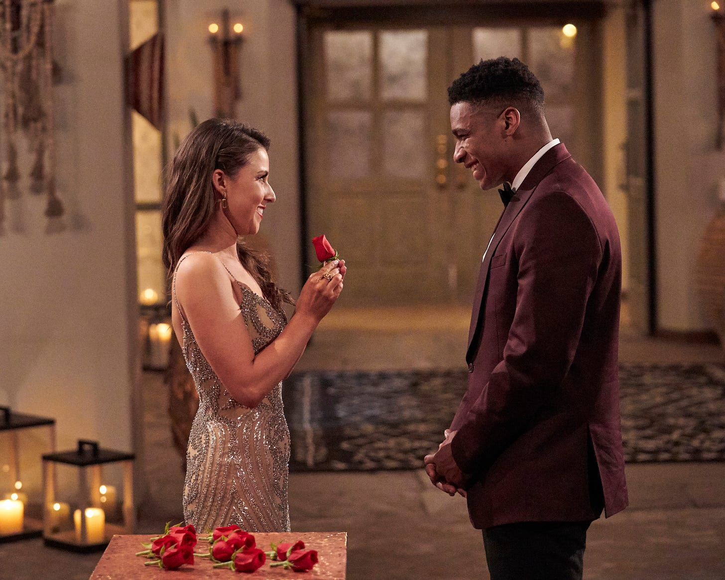 The Bachelorette Katie Thurston has a choice to make - but contestant Andrew S., like a Jane Austen hero, wants to be chosen.