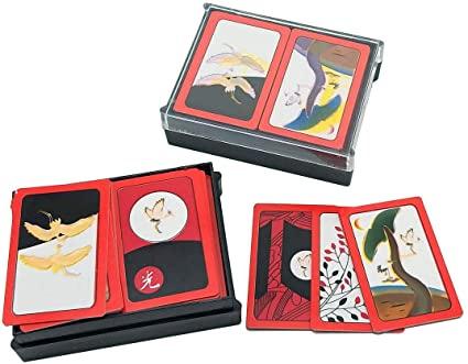 Korean Flower Card Game Hwatu, Go-Stop, Godori 2Pcs, Card Games - Amazon  Canada