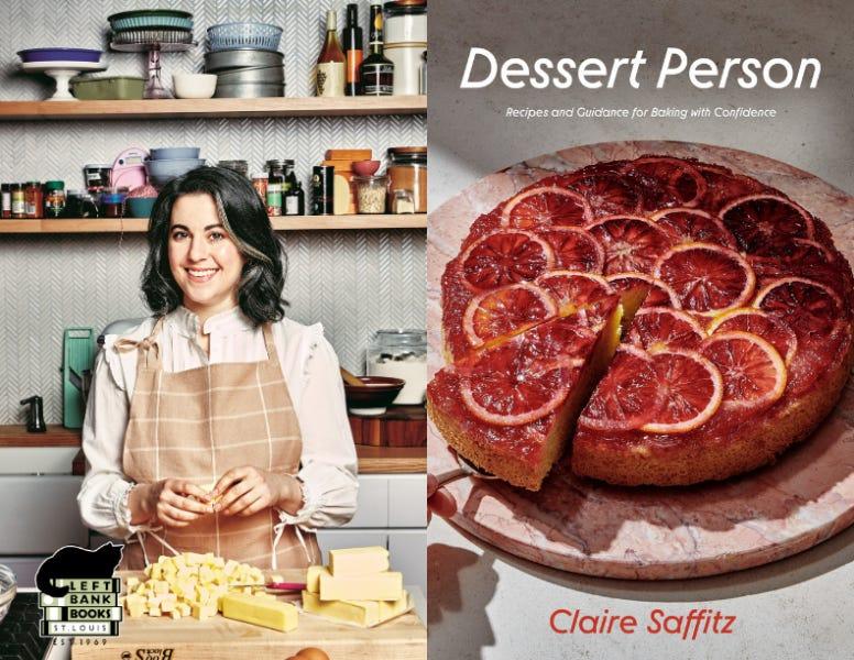 LBB Presents ONLINE: Claire Saffitz - Dessert Person | Left Bank Books