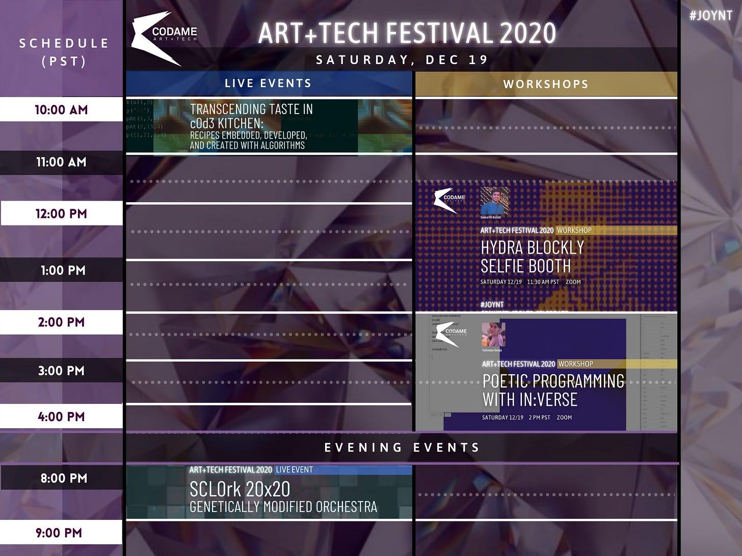 DAY 9: ART+TECH Festival 2020『 JOYNT 』