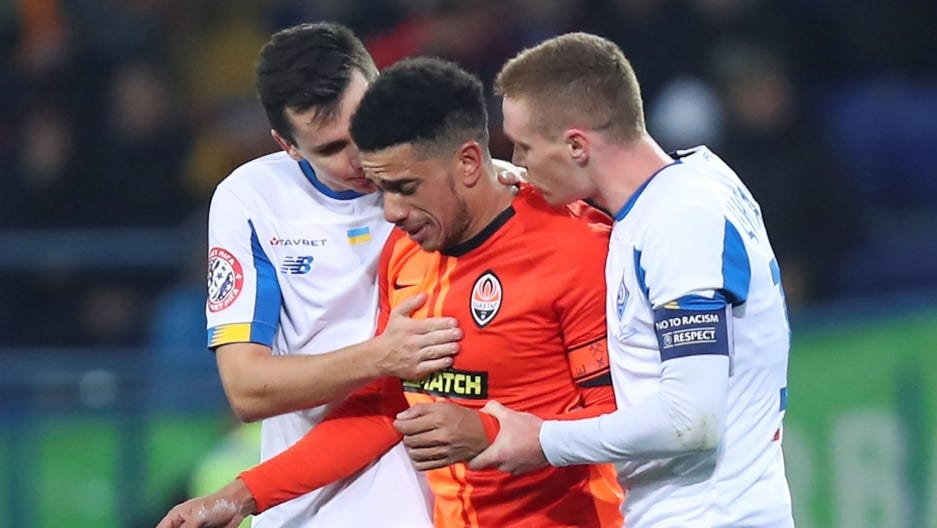 As racist incidents mount, European soccer officials vow to do more