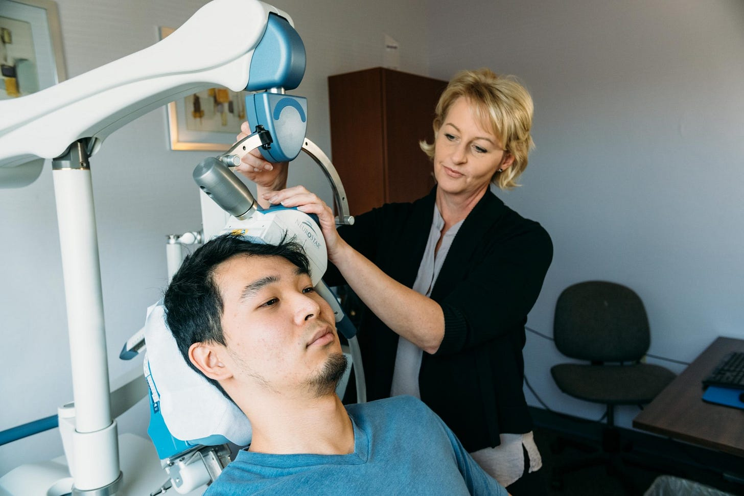 Treating Depression with Transcranial Magnetic Stimulation (TMS) Therapy -  In Public Safety