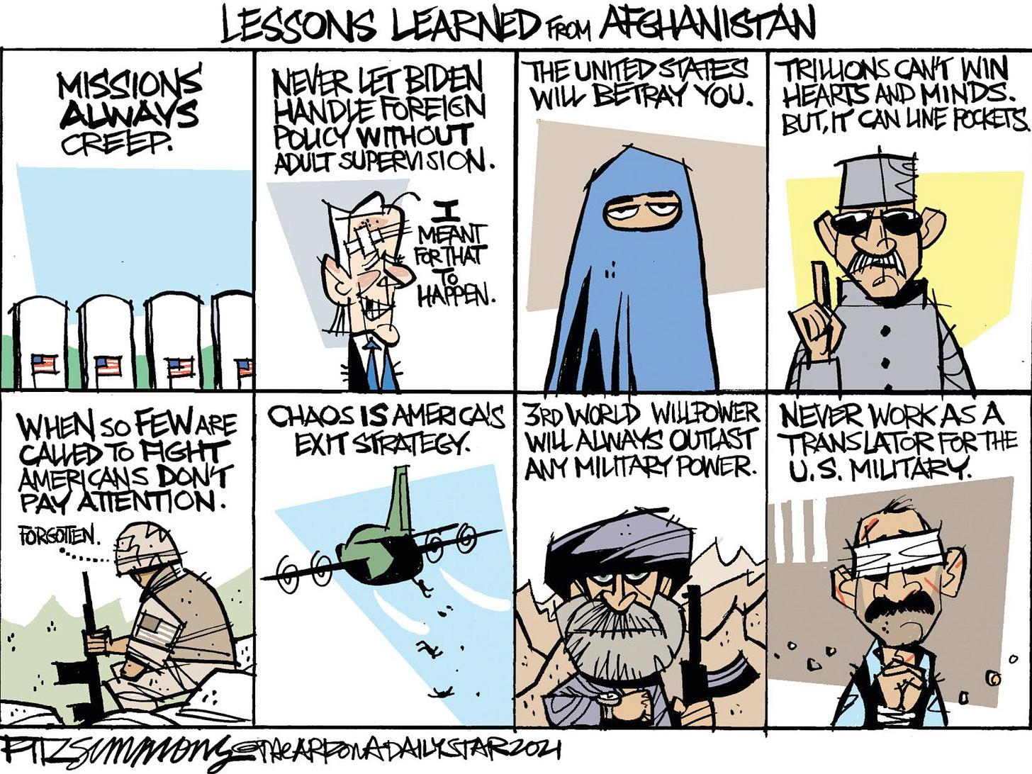 Cartoon: Lessons of Afghanistan | Columnists | tulsaworld.com