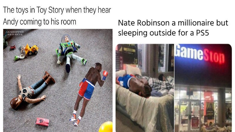 23 Memes Commemorating Nate Robinson's Shocking Knockout During His Fight  Against Jake Paul   Know Your Meme