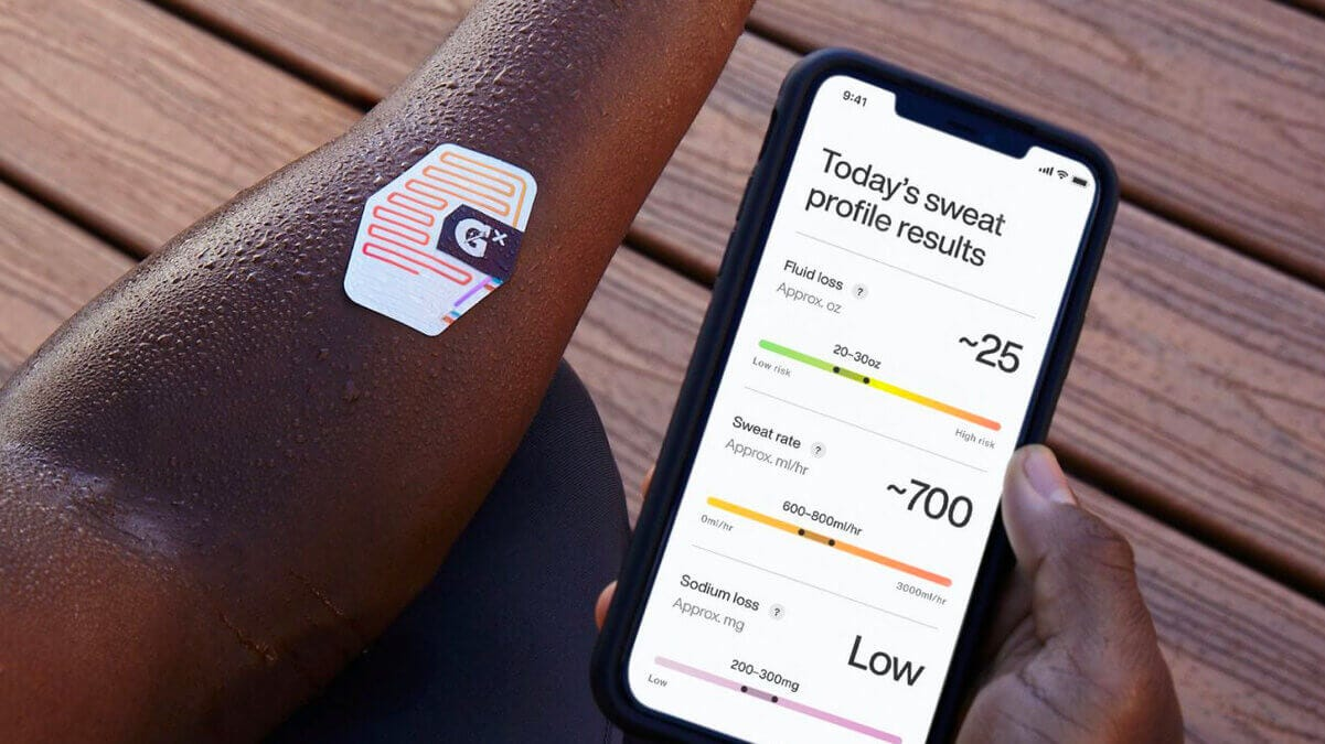 Gatorade's new wearable helps athletes track their hydration | The Burn-In