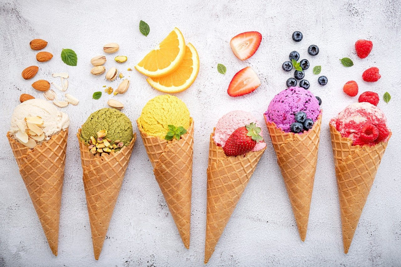 Image result for ice cream flavors