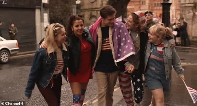 Image result for derry girls clinton
