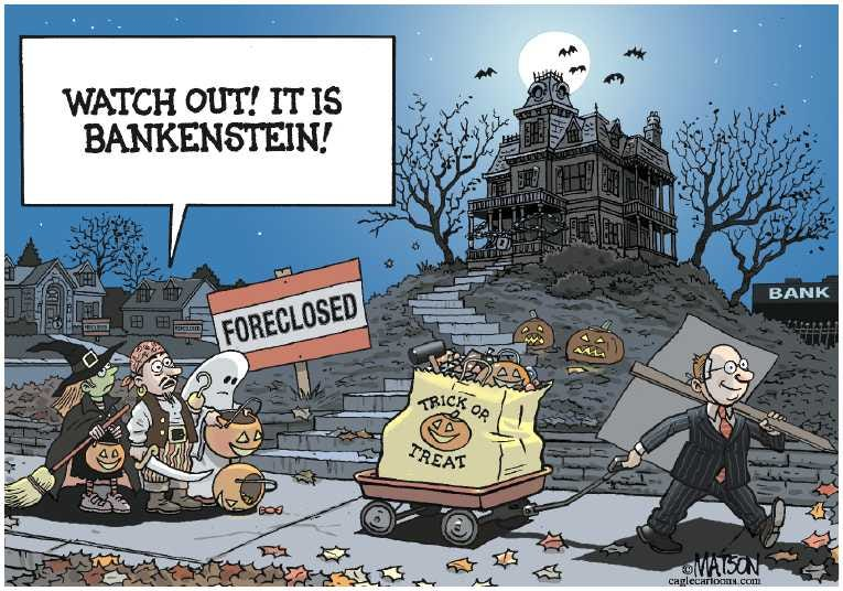 Political Cartoon on 'Nation Celebrates Halloween' by RJ ...