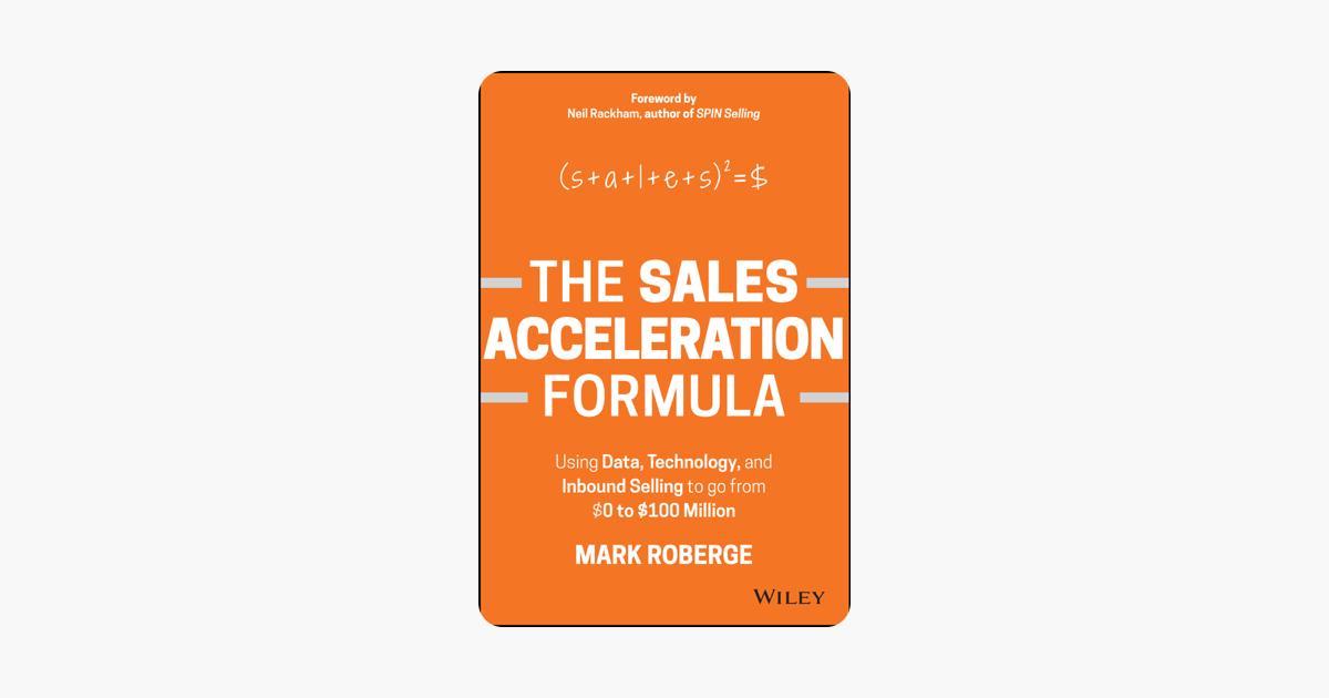 Resultado de imagen de sales acceleration formula