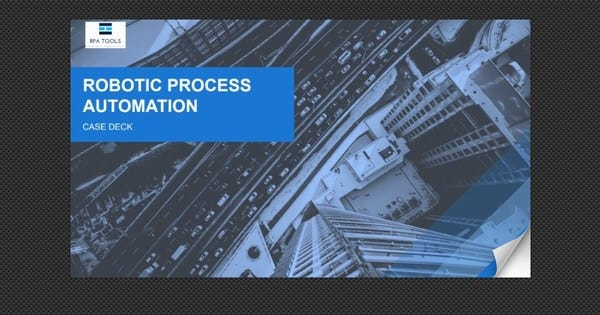 Robotic Process Automation 2019 Use Cases