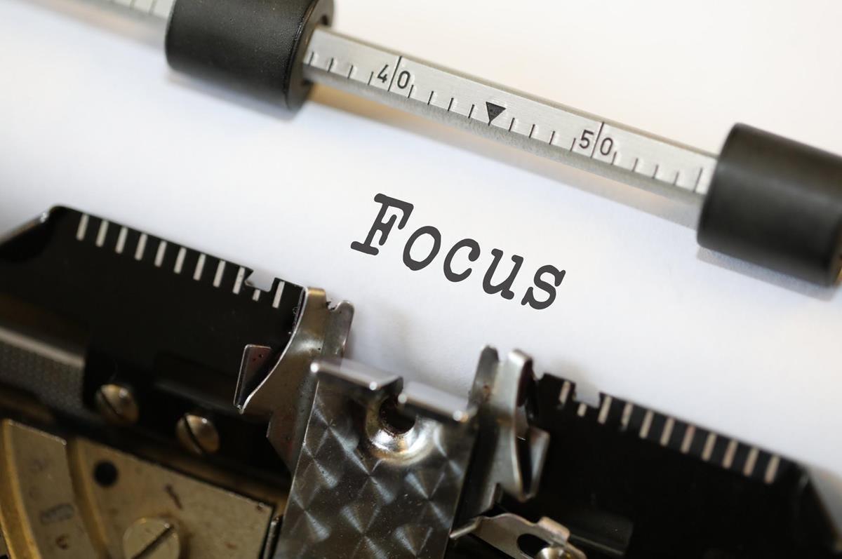 Focus - Free Creative Commons Typewriter image