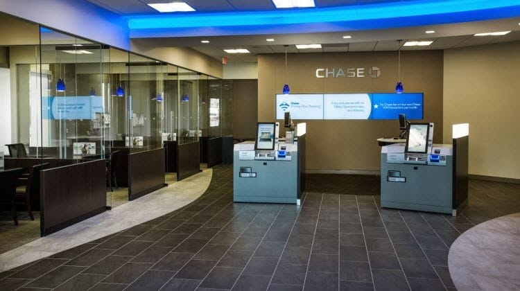 Image result for chase bank interior