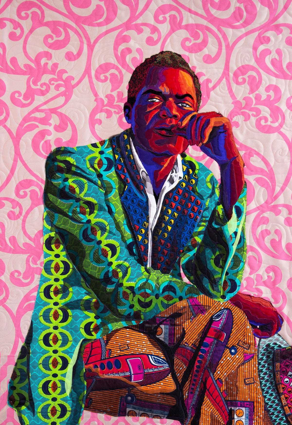 Contemporary Quilting of African American Portraits Carry On the Tradition