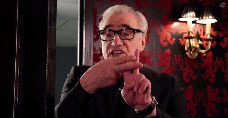 """The Wolf of Wall Street"" director Martin Scorsese participates in the Hashtag Game."