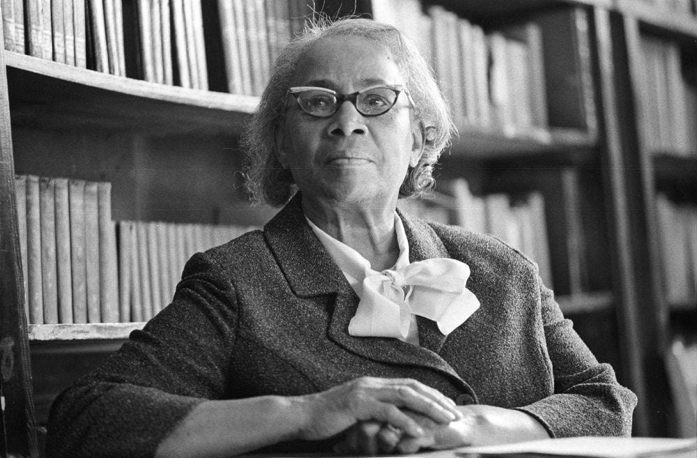 African American Women of the Modern Civil Rights Movement – Septima  Poinsette Clark | Historically Speaking