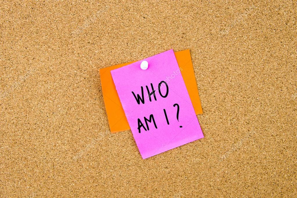 Who Am I written on paper note — Stock Photo © stanciuc1 #109837006