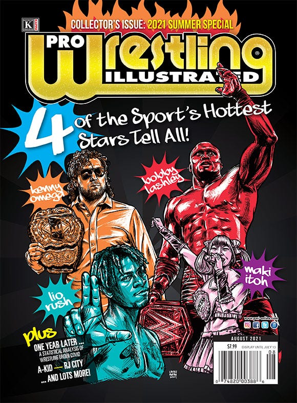 AUGUST 2021 - PWI SUMMER SPECIAL