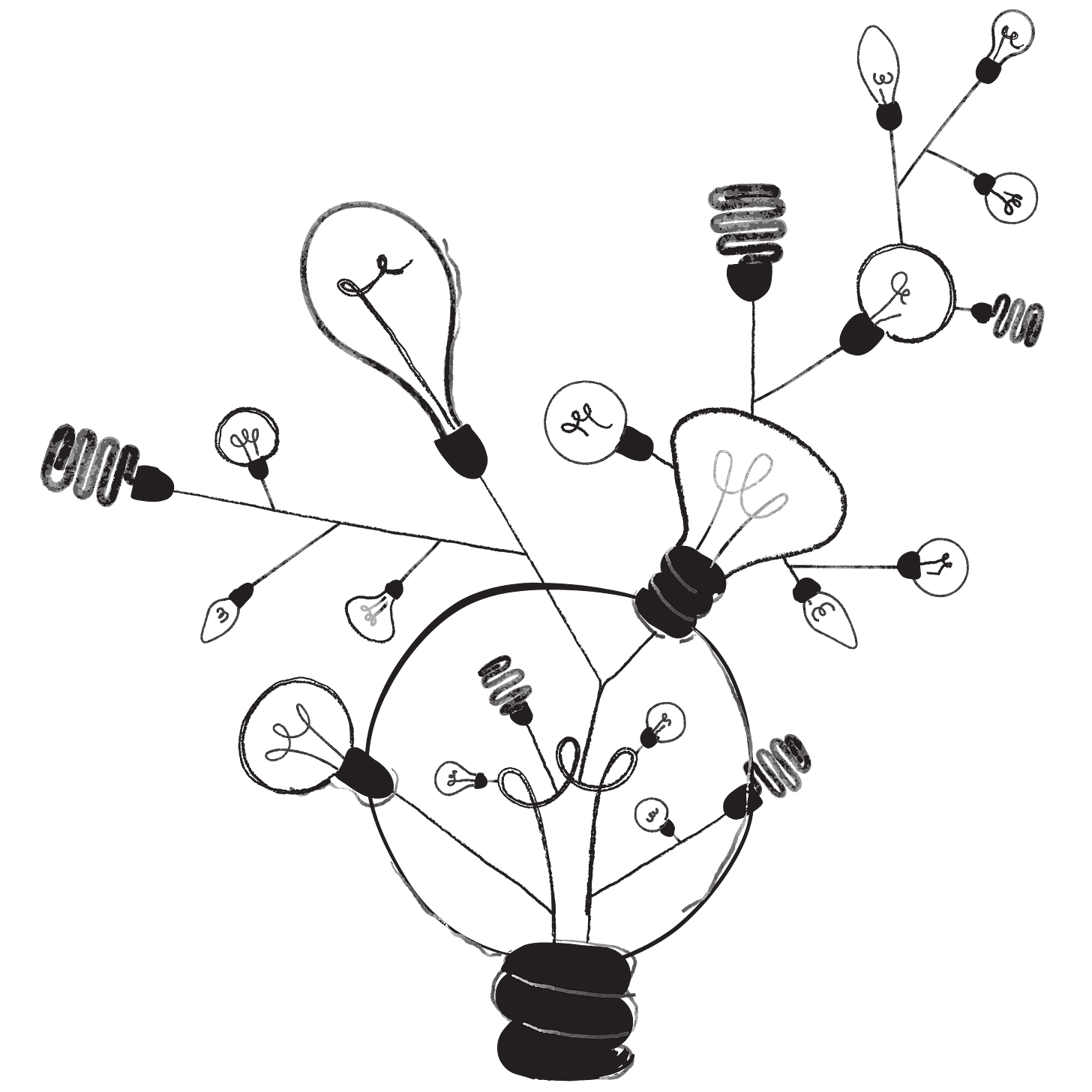 Illustration - arbre d'idées