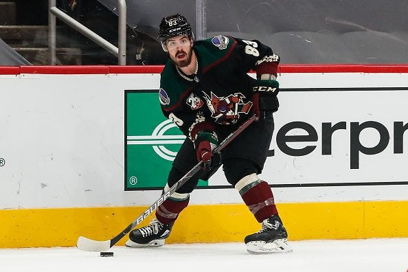 Arizona Coyotes' Conor Garland-One of the NHL's Most Underrated Talents -  Prime Time Sports Talk