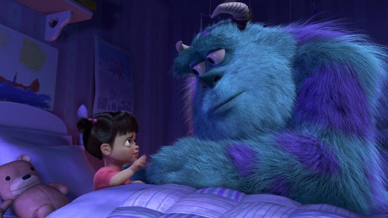 Monsters, Inc. 3 May See Boo As an Adult | Den of Geek
