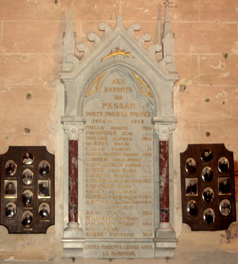 Image result for france memoriale de la guerre village