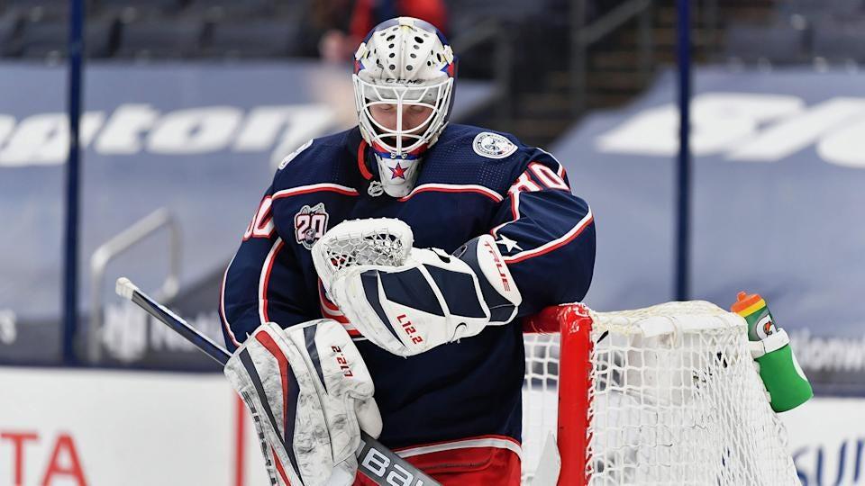 Blue Jackets goaltender Matiss Kivlenieks dies at 24