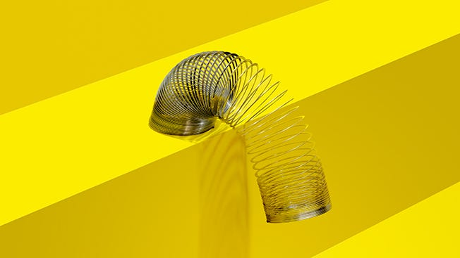 The Twisted Tale of Slinky, the Most Popular Toy Ever